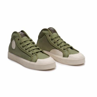 K100 Green Off White