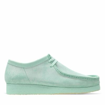 Wallabee Mint Suede
