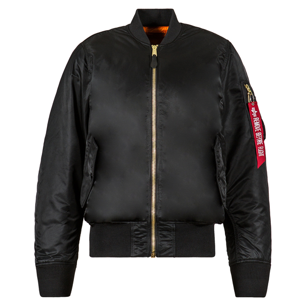 MA-1 Women FLIGHT JACKET Black
