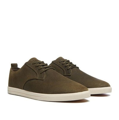 ELLINGTON OLIVE WAXED SUEDE