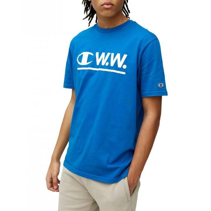 Al Short Sleeve T-shirt Blue