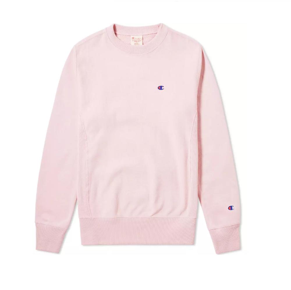 a3656a54bdd8 REVERSE WEAVE CLASSIC CREW SWEAT Pink
