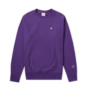 REVERSE WEAVE CLASSIC CREW SWEAT Purple