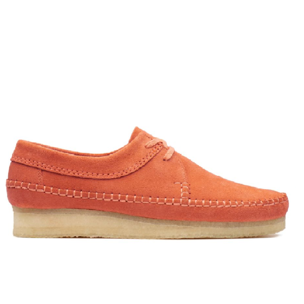 Weaver Spice Orange Suede