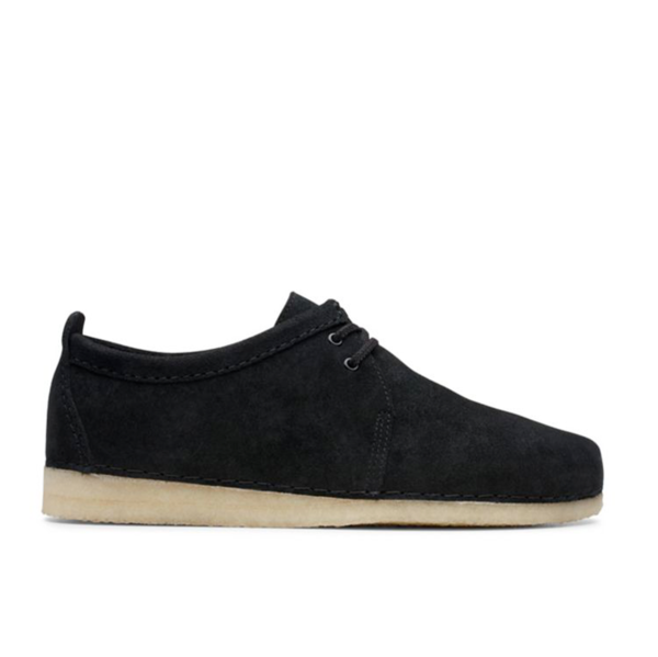 Ashton Black Suede