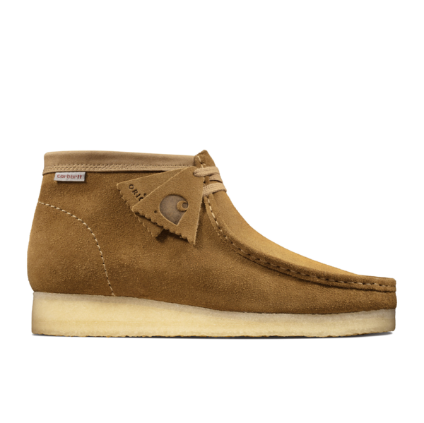 Carhartt Wallabee Boot Brown Combi Suede