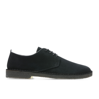 Desert London Black Suede
