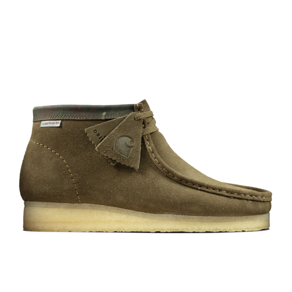 Carhartt Wallabee Boot Olive Camo