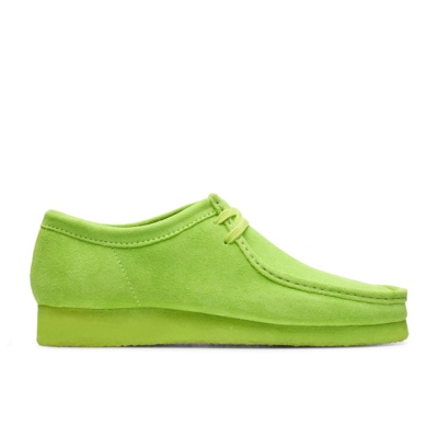 Wallabee Lime Suede