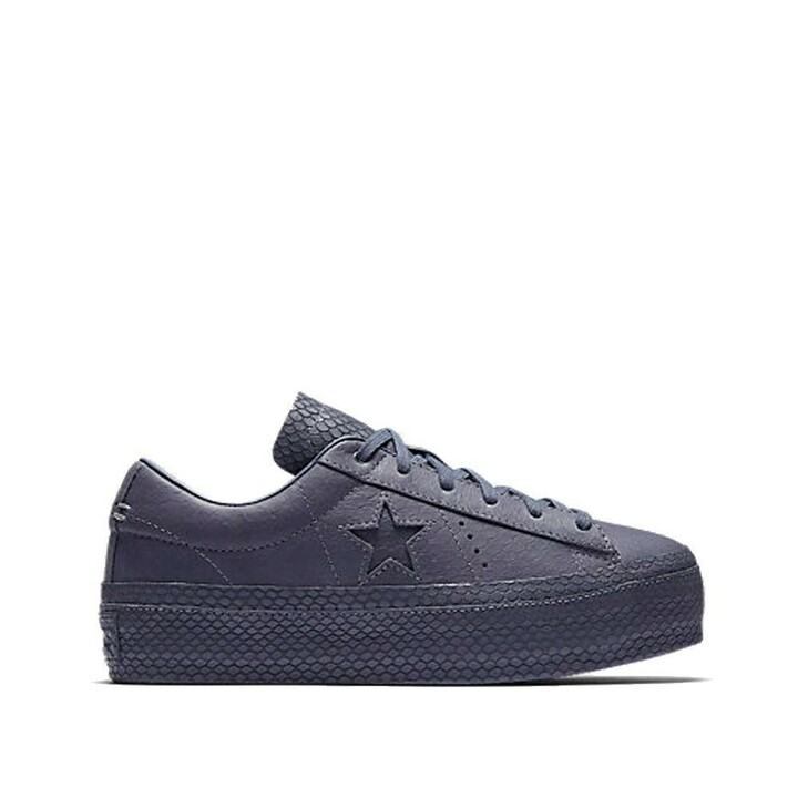 One Star Platform Reptile Leather