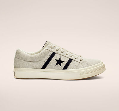One Star Academy Low Top Egret/Black
