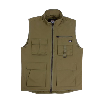 Stillmore Lightweight Gilet Army Green