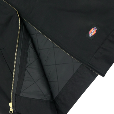 Insulated Eisenhower Jacket Black