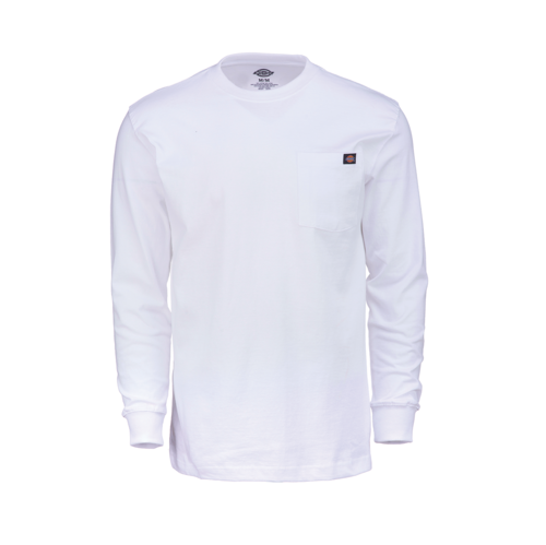 Long Sleeve Heavyweight Crew Neck White