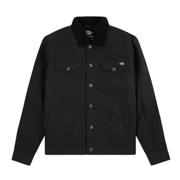 Marksville Trucker Jacket Black