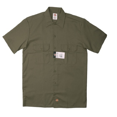 Short Sleeve Work Shirt OLive