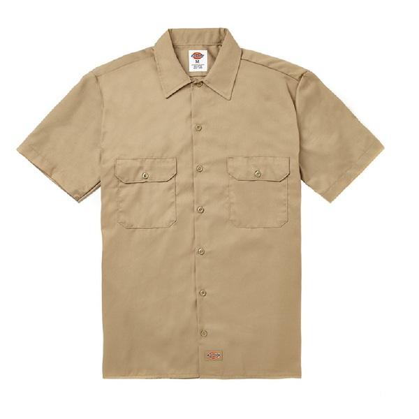 Short Sleeve Work Shirt Khaki