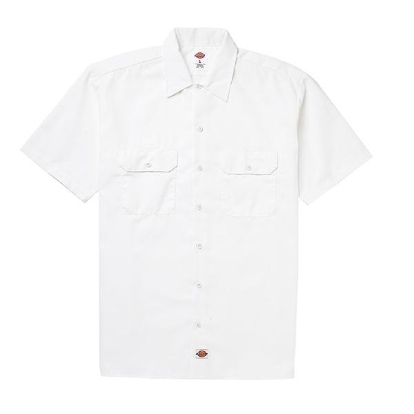 Short Sleeve Work Shirt White