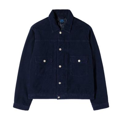 E-Classic Corduroy Jacket Indigo