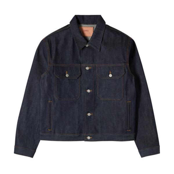 Kaihara Japanese Denim Jacket Blue
