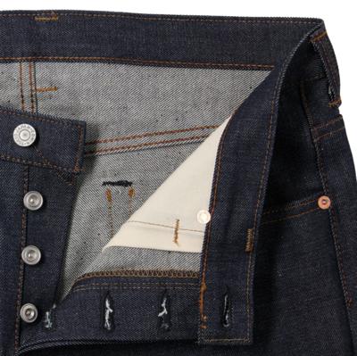 Kaihara Japanese Denim Regular Tapered Jeans Blue
