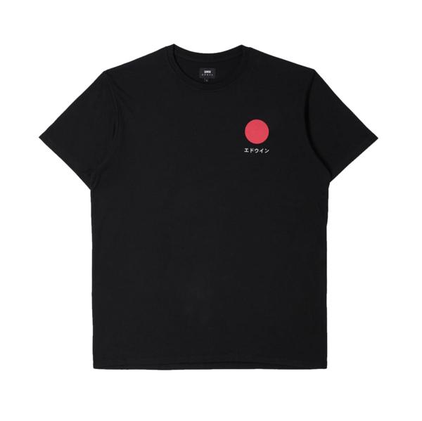 Japanese Sun T-Shirt Black