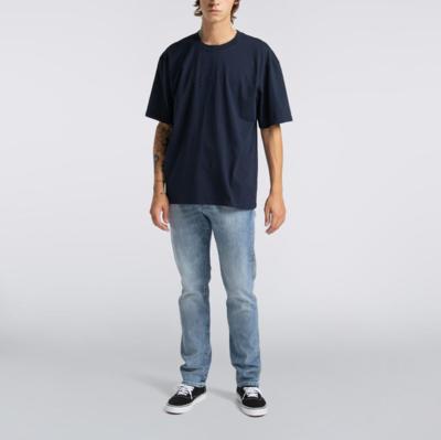 Katakana Embroidery T-Shirt Navy Blazer