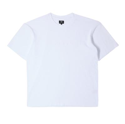 Katakana Embroidery T-Shirt White