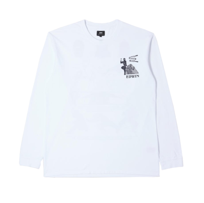 Shinobii T-Shirt Longsleeve White