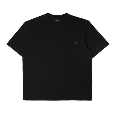 Oversized Pocket T-Shirt Black