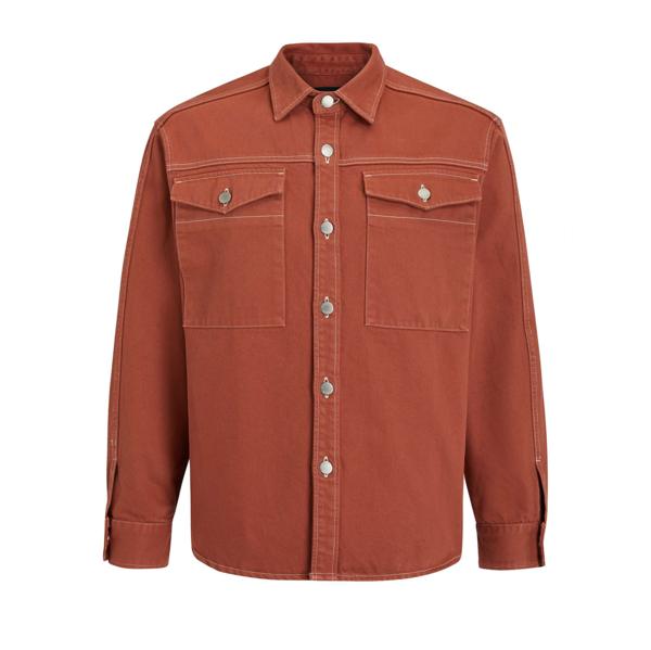 Valter Patch Pocket Shirt Auburn
