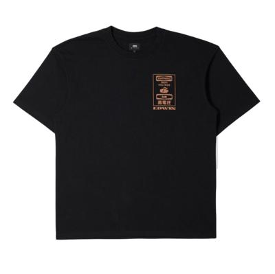 Warning T-Shirt Black