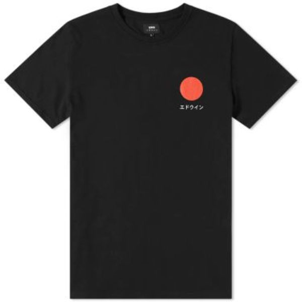 Japanese Sun T-Shirt Black