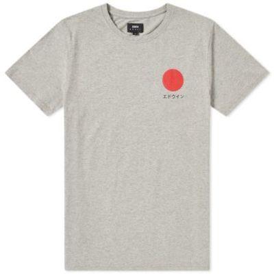 Japanese Sun T-Shirt grey