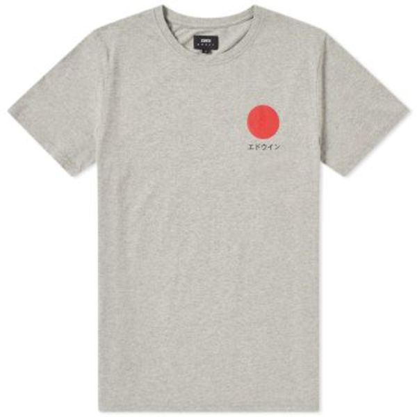 Japanese Sun T-Shirt grey