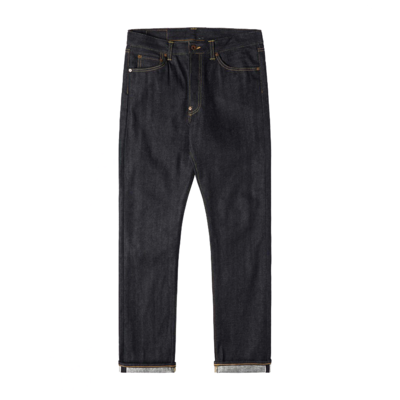 Nashville Red Selvage Blue Unwashed
