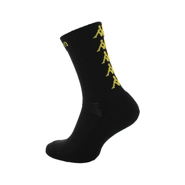 Eleno Pack of 3 Socks Black/Yellow