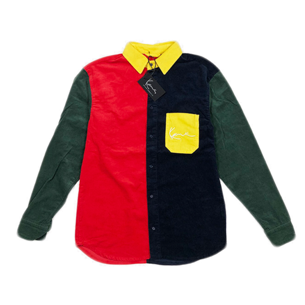 Signature Cord Shirt Red / Black / Green / Yellow