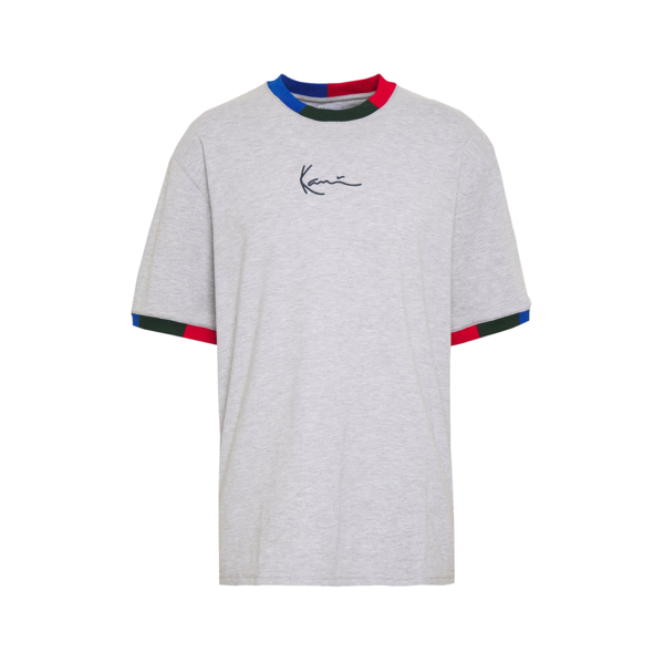 Signature Ringer T-Shirt Grey / Navy / Green / Red