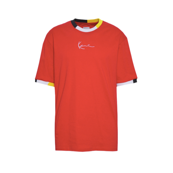 Signature Ringer T-Shirt Red / Navy / Grey / Yellow