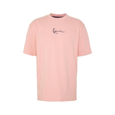 Signature Ringer T-Shirt Rose