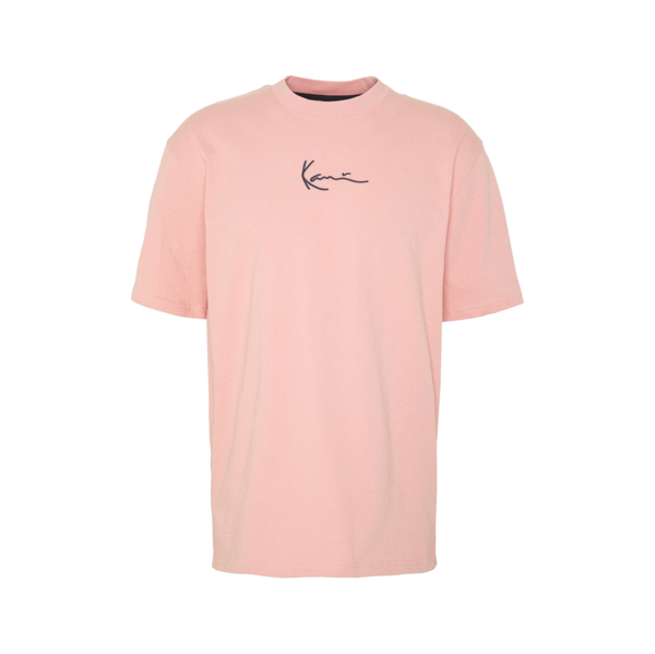 Signature Ringer T-Shirt Rose