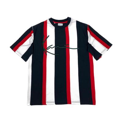Signature Stripe T-Shirt Navy / Red / White