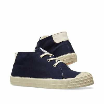 STAR CHUKKA UW Navy Canvas