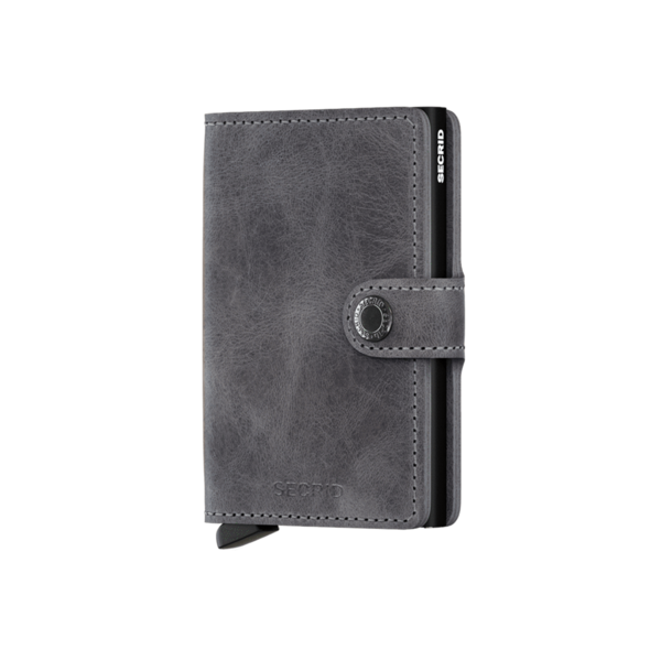 Miniwallet Vintage Grey / Black