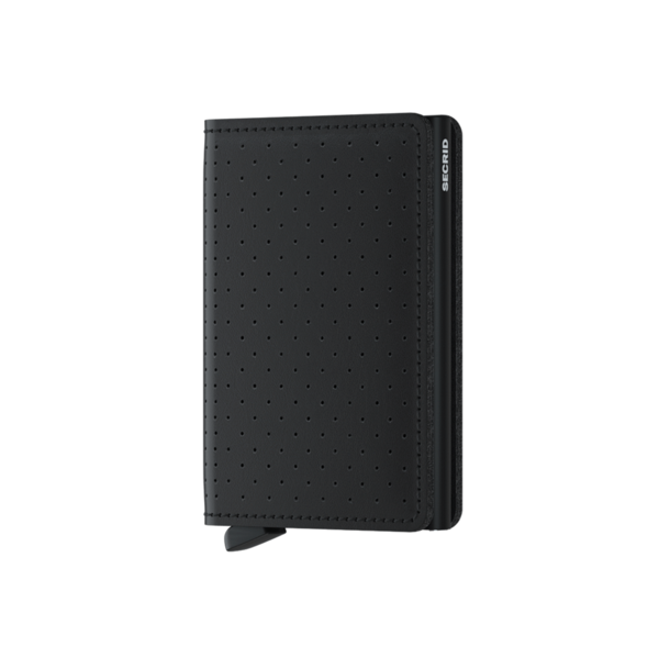 Slimwallet Perforated Black