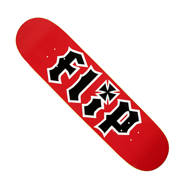 "Team HKD Skateboard Deck 7.75"" Red"