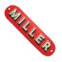 "Miller Corporate Skateboarding Deck 8.5"" Red"