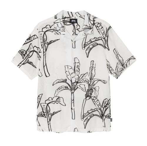 Banana Tree Shirt Off White