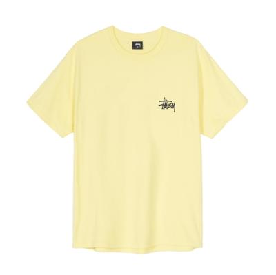 Basic Stussy Tee Yellow